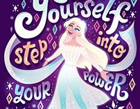 Frozen 2 Lettering Series