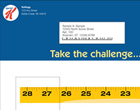 Kellogg Special K Challenge Mailer