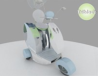 Triblade Tricycle