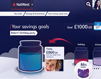 NatWest Savings Jar concepts