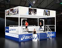 Asics Challenge World Mobile Congress Stand