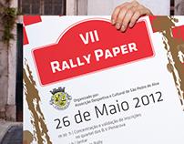 Cartaz Rally Paper ADC de Sao Pedro de Alva
