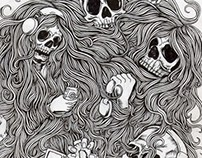 just skull and zombie