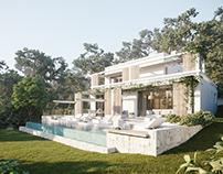 Cap Martinet Villa Ibiza