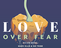 Love Over Fear Benefit Concert Poster