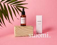 Suiomi organics branding