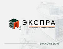 ЭКСПРА | Brand Design | Construction expertise