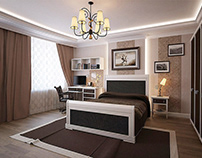 Bedroom for kid | 3d visualization