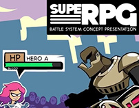 Superhero RPG Mockup