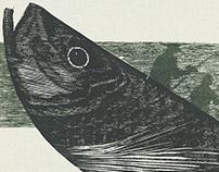 3º Prêmio Ibema Gravura: Pescaria