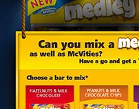McVitie Medley // pitch