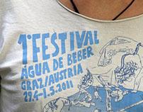 Capoeira T-Shirt –Água de Beber – 1° Festival
