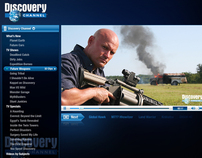 Discovery Web Media Player