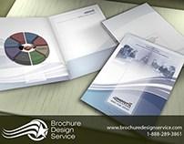 Presentation Folder Design - IT Company