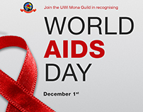 World Aids Day - UWI Mona Guild social post
