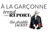 trend report: the double jacket