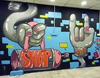 Uptown Puchong Graffiti Competiton 2017