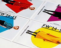 FW'14–15 lookbook for SB fashion studio