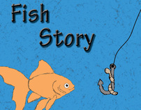 "Children Book - ""Fish Story"""