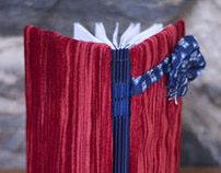 handmade book: Red Velvet