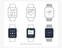 Apple Watch Wireframes