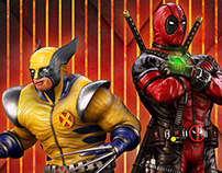 Deadpool and Wolverine Team Up.