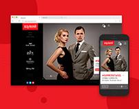 Raymond Group Website Redesign/ Revamp - UX/UI