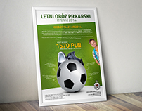 Posters design for children's football team
