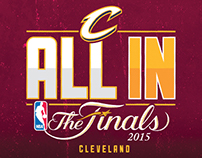 Cleveland Cavaliers All In - 2015 NBA Playoffs Campaign