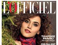 LOFFICIEL INDIA COVER @BROOKLYNSTUDIO