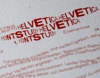 Helvetica Experiments