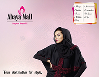 Abaya Mall press-ads