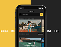 RSRVD - Find sports venues in your area