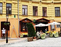little european street