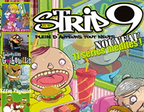 STRIP9   le nouveau magazine BD
