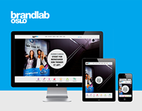 Brandlab Oslo Website