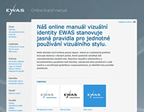 EWAS - online brand manual & design guidelines