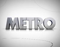 Metro - tv rebranding