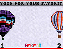 Hot Air Balloons Machine Embroidery Designs