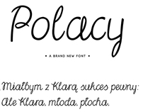 Polacy Font