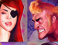 Venture Brothers Portraits