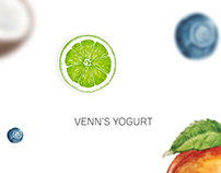 Langing for yogurt Venn's