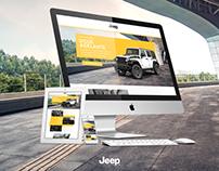 Landing Jeep