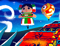 Google Doodle - Mexico National Day