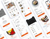 Food Delivery App UI Design