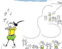 Infantile illustrations