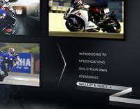 Yamaha R1 // Hotsite