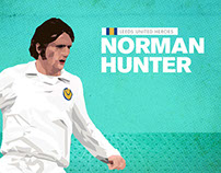 Football Heroes Infographic - Norman Hunter
