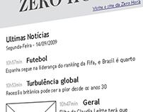 Newsletter - Zero-Hora