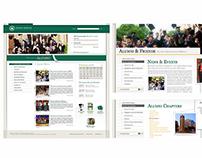 Lebanese American University Website Design - 2009